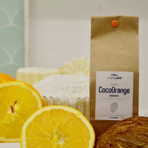 Bademilch CocoOrange duftet nach Orange und Kokosnuss