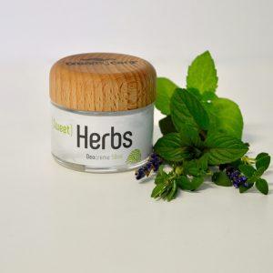 Deocreme Sweet Herbs, die wunderbar nach Kräutern duftet