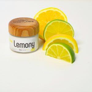 Die Deocreme Cake Lemony Sommer Edition mit spritzigem Zitrusduft - wirkt genau wie die Originalrezeptur ohne Beerenwachs