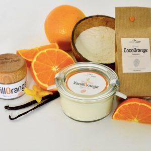 CreamyCare Paket VanillOrange - das Glücklichmach - Pflegeset von CreamyCare