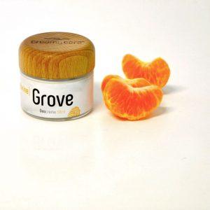 Die Deocreme Mandarine Grove Sommer Edition mit frischen Mandarinenduft - wirkt genau wie die Originalrezeptur ohne Beerenwachs