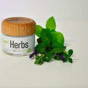 Die Deocreme Sweet Herbs Sommer Edition, die wunderbar nach Kräutern duftet